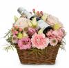 Blumenfee mit Prosecco
